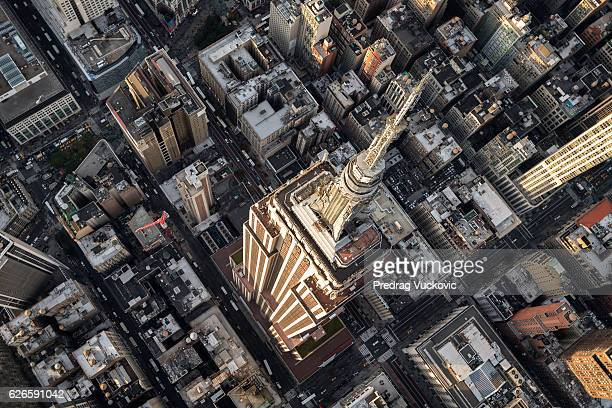 empire state building in new york - empire state building stock pictures, royalty-free photos & images