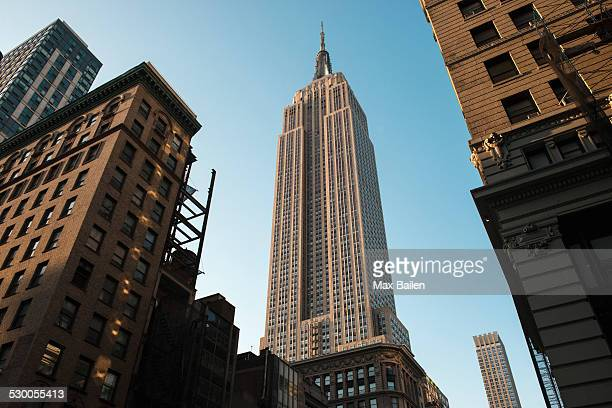 empire state building, manhattan, new york, usa - empire state building stock pictures, royalty-free photos & images
