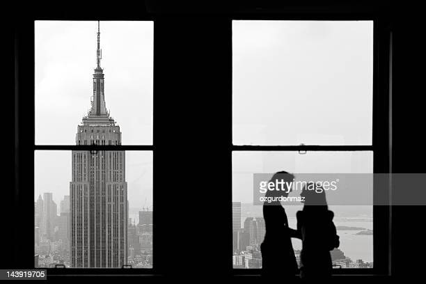 empire state building, new york - rockefeller center stock pictures, royalty-free photos & images