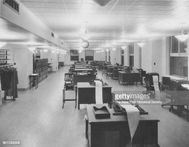 Empire State Building office interior New York New York 1929