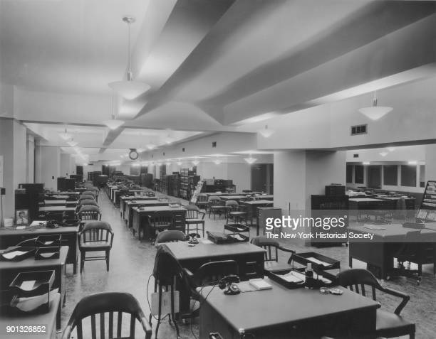 Empire State Building office interior New York New York between 1931 and 1938
