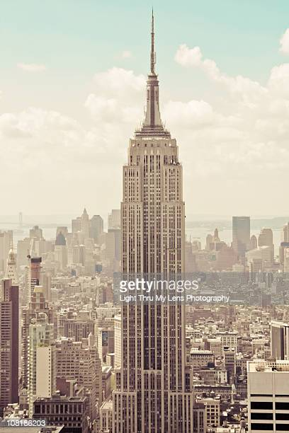 empire state building - empire state building stock pictures, royalty-free photos & images