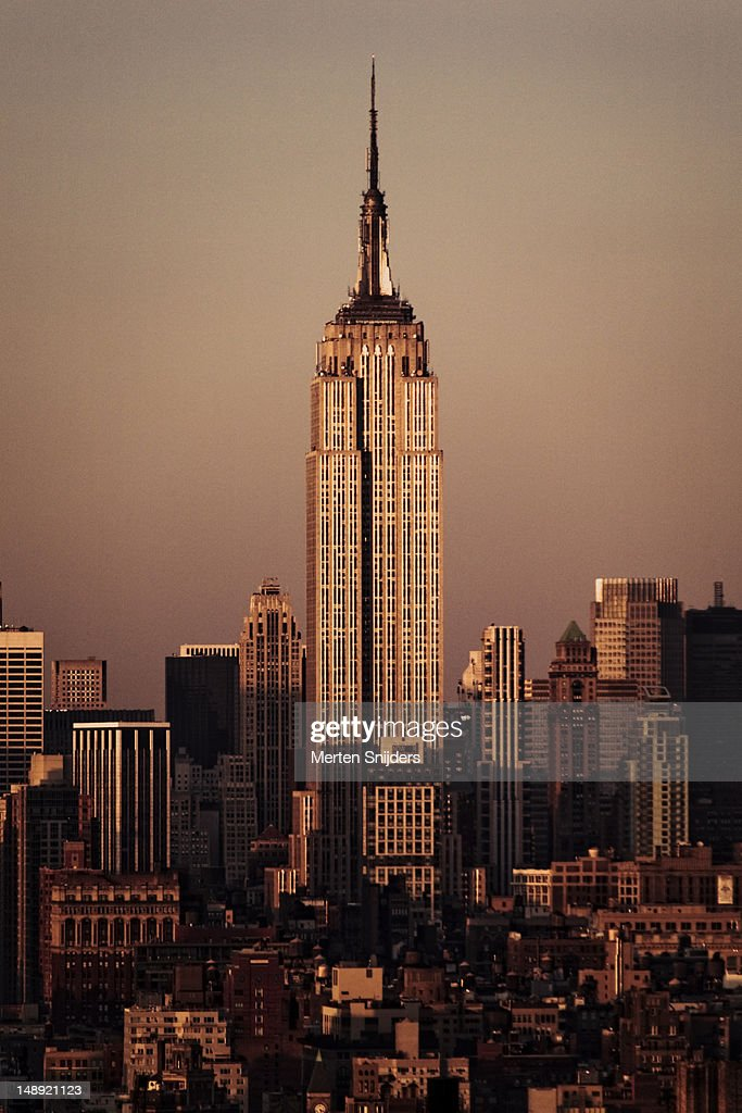 Empire State Building. : Stockfoto