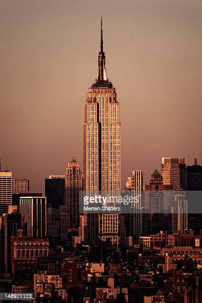 empire state building. - merten snijders stock pictures, royalty-free photos & images