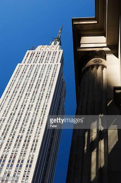 empire state building - ニューヨーク郡 ストックフォトと画像