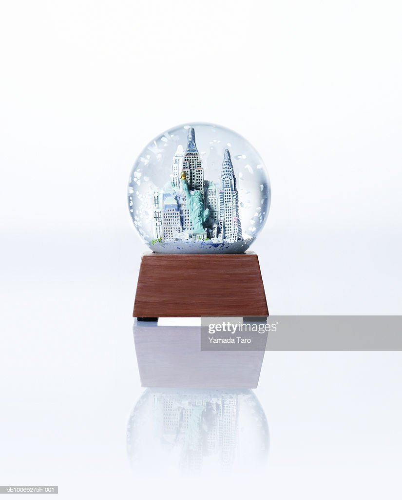 Empire State building snow globe, close-up : Stockfoto