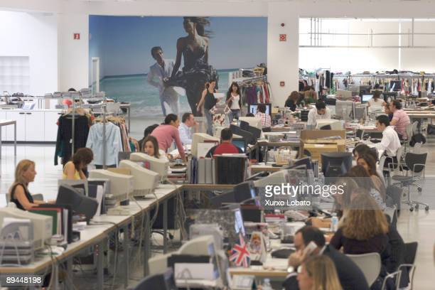 Empire The Spanish Fashion Company INDITEX owned by Amancio Ortega The entire design production and distribution of ZARA in the world