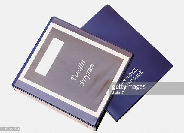 Employee Handbook - White Background