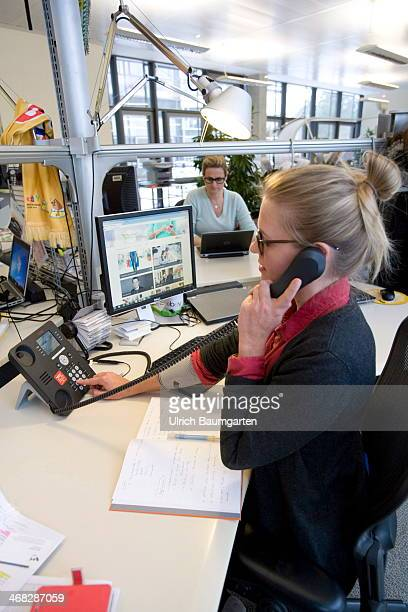 ebay head office. Employee Of The Ebay Head Office Germany In Berlin At Her Workplace On  January 29 2014