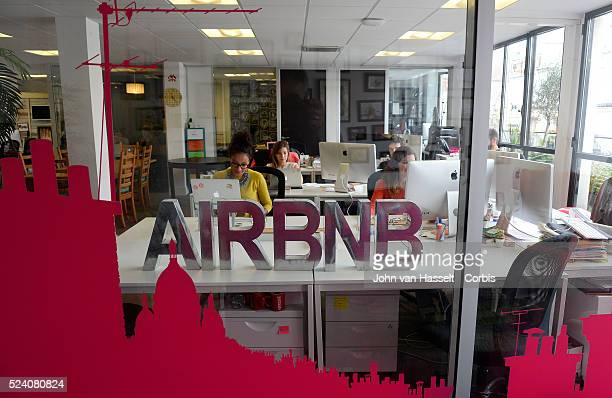Employees at the Paris office of Airbnb Airbnb is the world's leading homesharing community driven hospitality company based in San Francisco Paris...