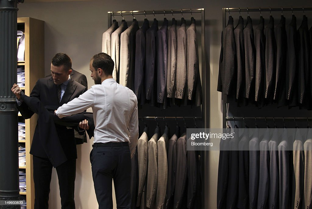 Inside High End Tailor Gieves & Hawkes Saville Row Store : News Photo