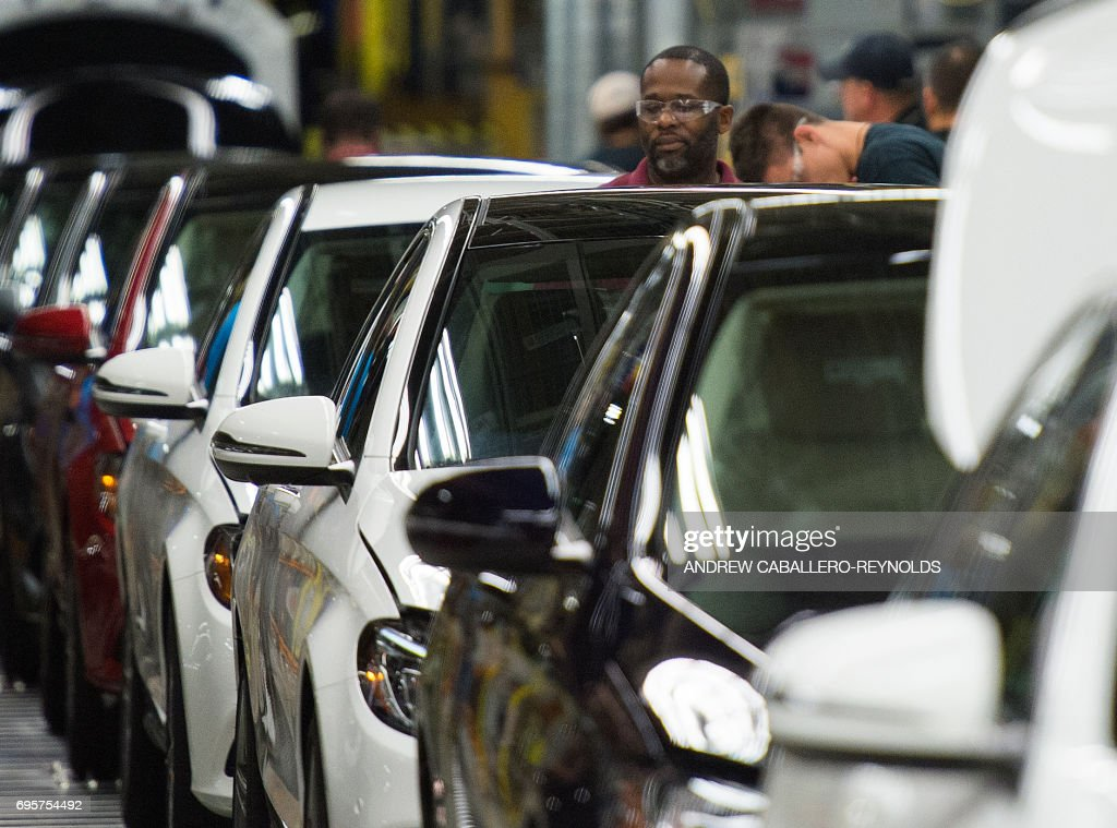 US-ECONOMY-AUTO-MERCEDES : News Photo