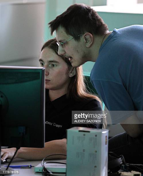 DERMY Employees of antivirus program development Kaspersky Lab work at their company's offices in Moscow on March 10 2011 Recently the American...
