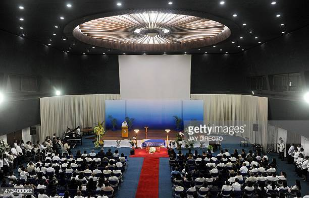 Employees of the Philippines Department of Foreign Affairs pay their last respects to the late Filipino ambassador to Pakistan, Domingo D. Lucenario...