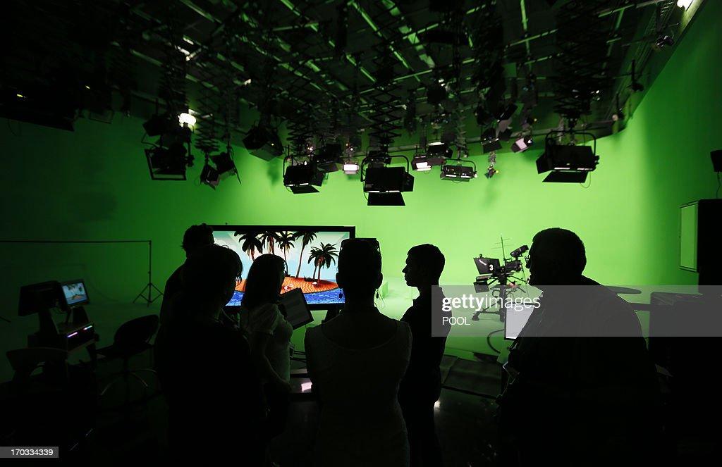 RUSSIA-POLITICS-PUTIN : News Photo