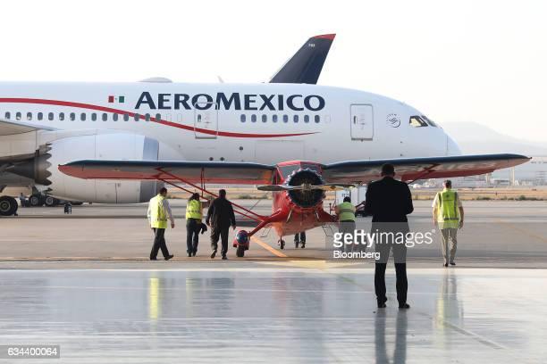 Grupo Aeromexico Sab Restored Stinson Plane As January Traffic ...