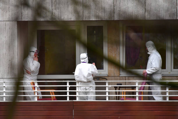 DEU: 12 Dead At Wolfsburg Senior Care Home Hit By Covid-19 Infections