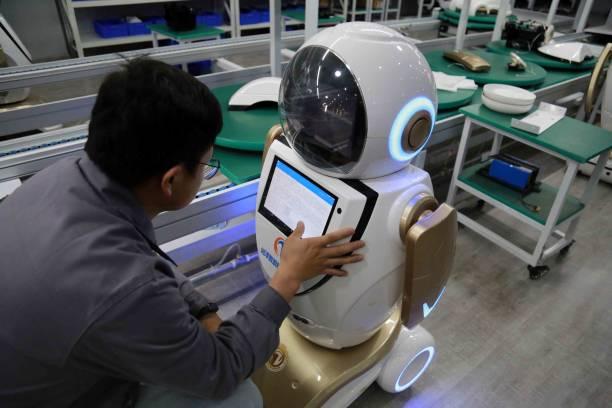 CHN: Robot Manufacturing In Zhangye