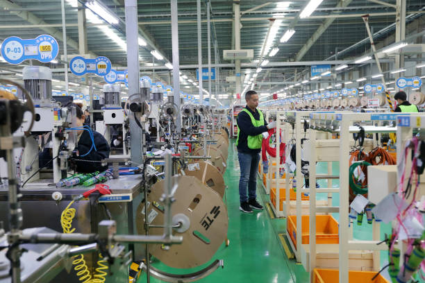 CHN: Automotive Wire Harness Manufacturing In Huaibei