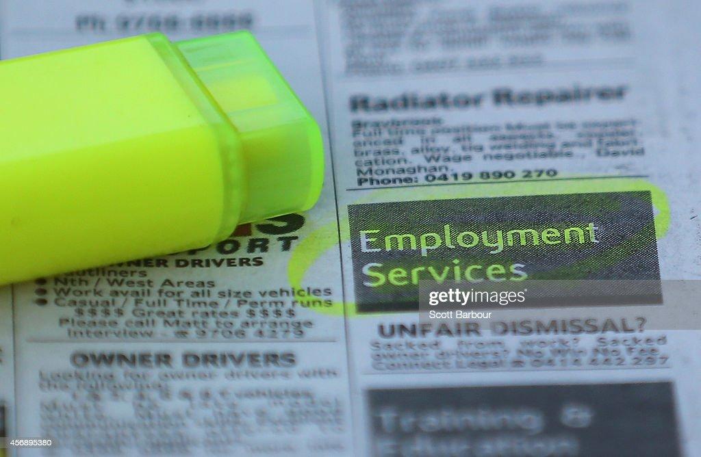 Unemployment Rates Rise In Australia : News Photo