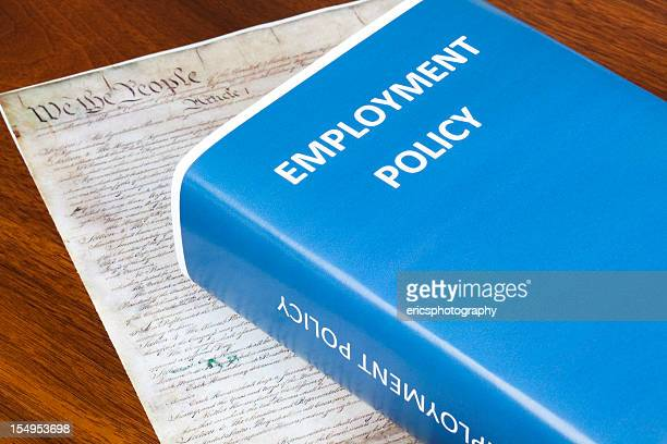 employment policy - employment law stock photos and pictures