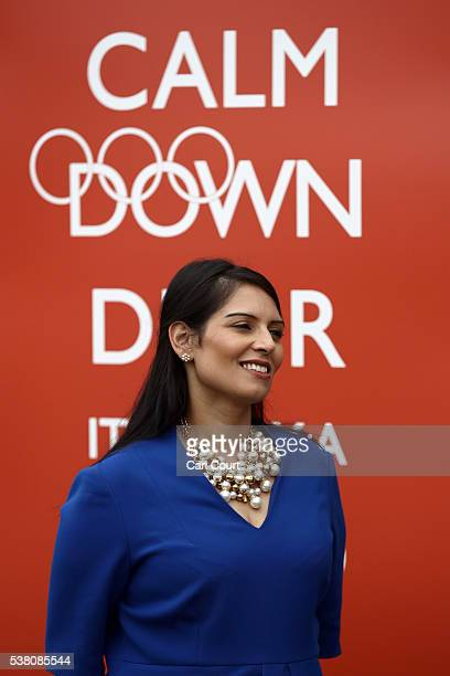 Priti Patel In Hot Water Pictures Gallery - Getty Images-1442