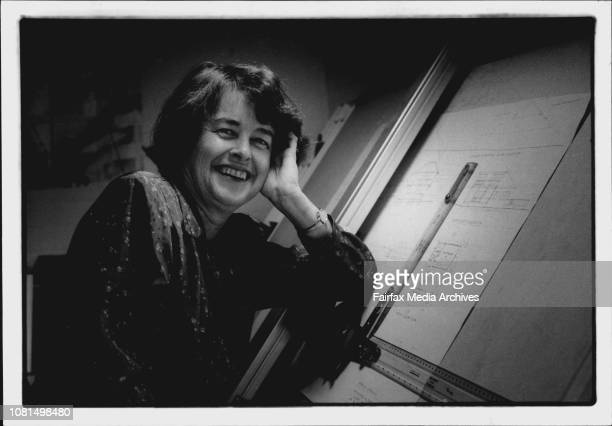 Employment Supps Alison Rose architect pictured at her home/office with plans of a house she is designingArchitect Alison Rose has observed...