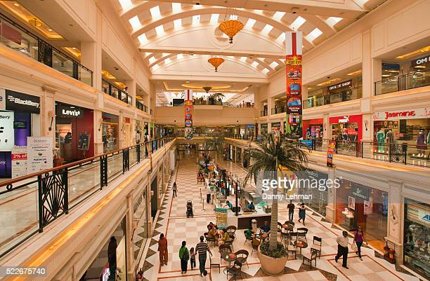 dlf emporio mall, new delhi, india - delhi stock pictures, royalty-free photos & images
