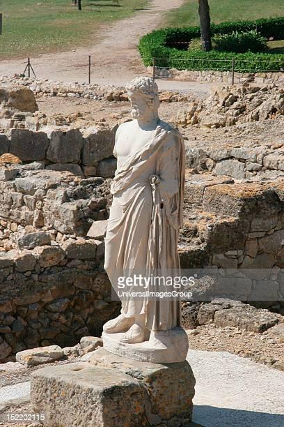 Emporium 570 BC Asclepius god of medicin Neapolis Girona province Catalonia Spain