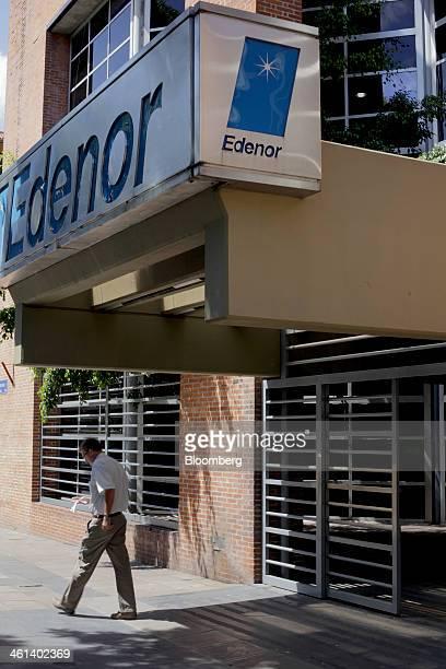Empresa Distribuidora Comercializadora Norte SA offices stand in the Chacarita neighborhood of Buenos Aires Argentina on Wednesday Jan 8 2014 Empresa...