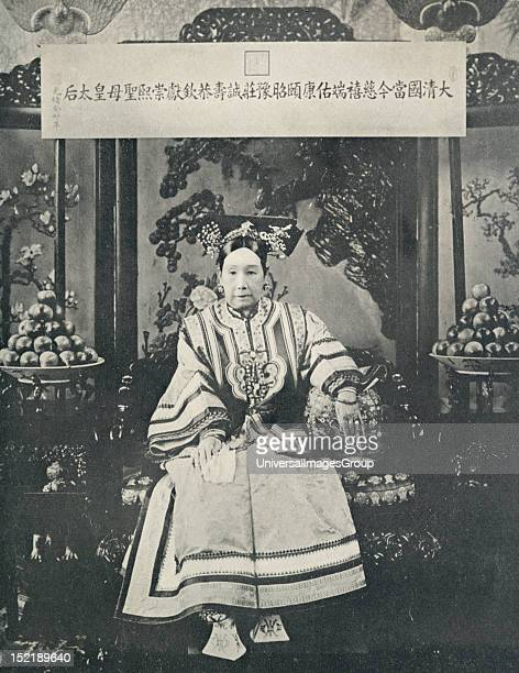 Empress Dowager Tz'uHsi of the Manchu Yehenara clan unofficially controlled the Manchu Qing Dynasty in China for 47 years from 1861 to her death in...