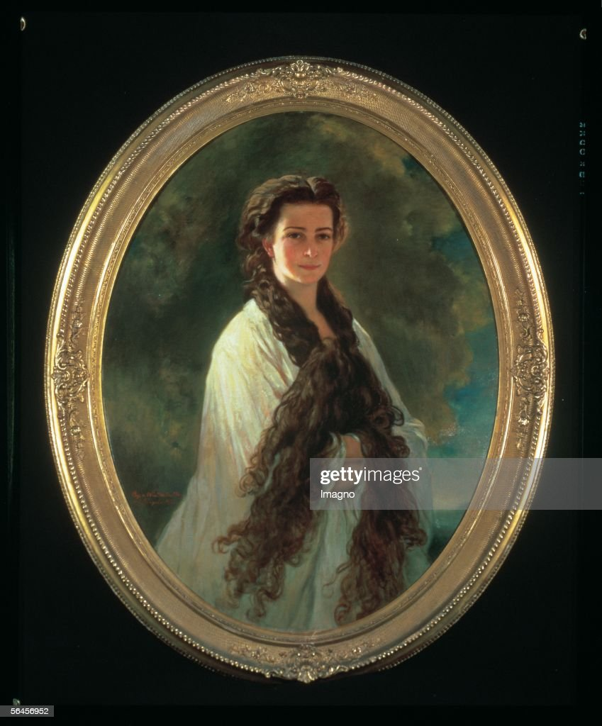 Empress Elisabeth in morning light. Copy by E. Riegele (1923) according to a painting by Franz Xaver Winterhalter (1864). (Photo by Imagno/Getty Images) [Kaiserin Elisabeth im Morgenlicht. Kopie von E. Riegele (1923) nach dem Gemaelde von Franz Xaver Winterhalter (1864).]