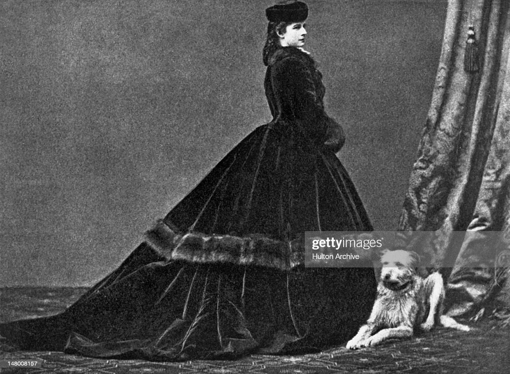 Empress Elisabeth of Austria (1837 - 1898), the wife of Franz Joseph I of Austria, circa 1868. She was the daughter of the Duke of Bavaria, and was known as Sisi to her friends and family.