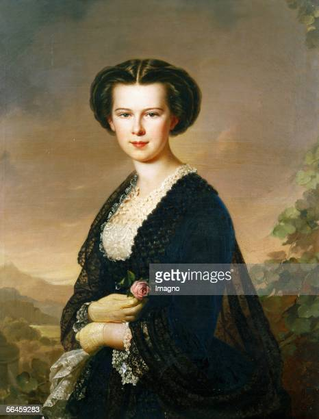 Empress Elisabeth Sisi nee Princess of Bavaria wife of Emperor Franz Josef of Austria Hungary She was a famed beauty and restless traveller and was...