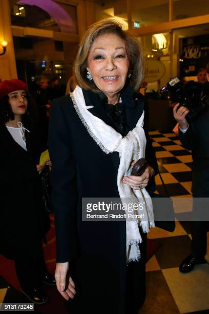 H Empress Farah Pahlavi attends the Heart Gala Evening to benefit the Mecenat Chirurgie Cardiaque at Salle Gaveau on February 1 2018 in Paris France