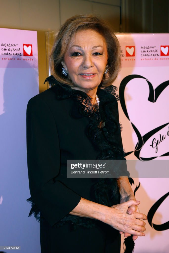 'Heart Gala' Evening To Benefit The 'Mecenat Chirurgie Cardiaque' In Paris : News Photo