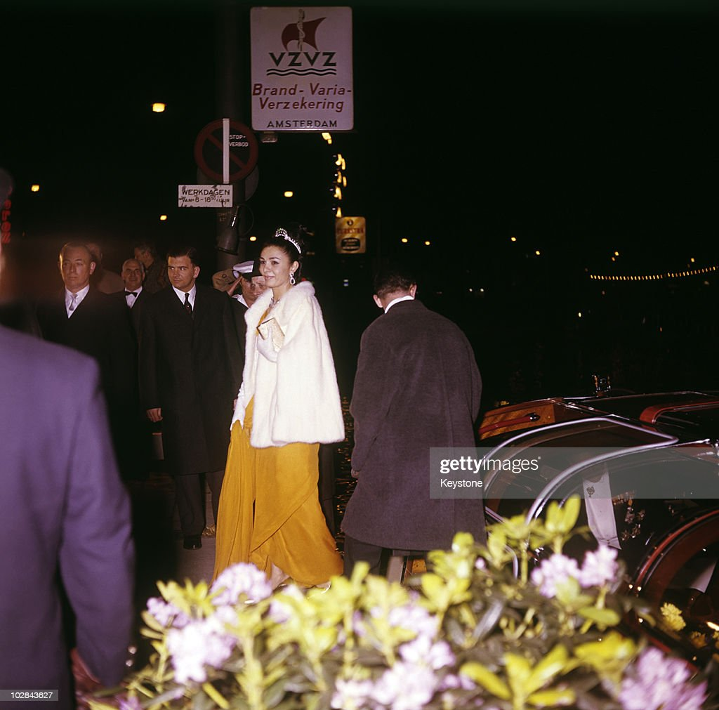 Empress Farah Pahlavi : News Photo