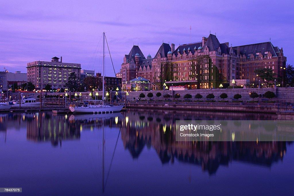 Empress Hotel , Victoria , Canada : Stockfoto