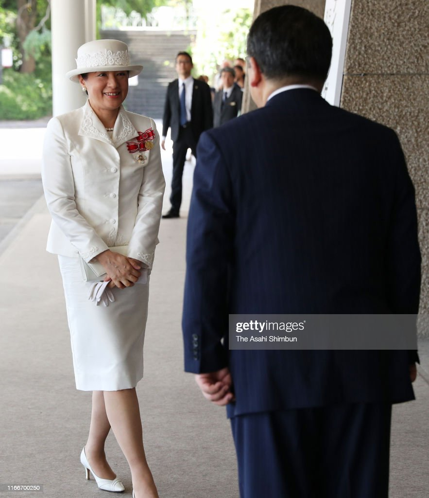 Empress Masako Attends Florence Nightingale Medal Ceremony : News Photo