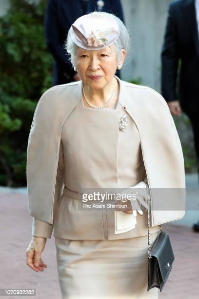 Empress Michiko attends the ceremony marking the 200th anniversary of the birth of doctor Ignaz Semmelweis on November 14 2018 in Tokyo Japan