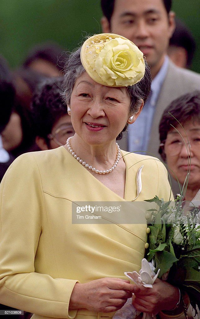 Empress Michiko Of Japan : News Photo