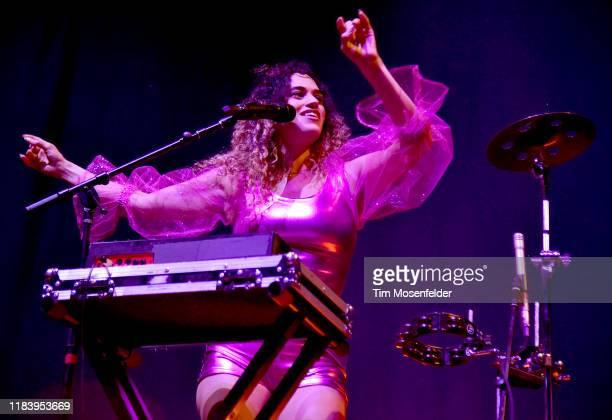 Empress Of performs at Bill Graham Civic Auditorium on October 27, 2019 in San Francisco, California.
