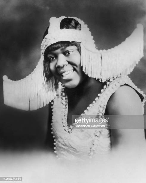 Empress of the Blues Bessie Smith poses for a portrait circa 1925 in Indianapolis Indiana