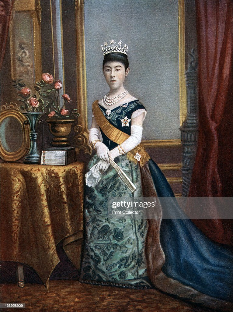 Empress Shoken, empress consort of Japan, late 19th-early 20th century. : News Photo