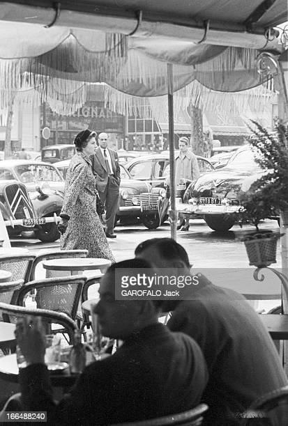 Empress Soraya Wife Of Shah Of Iran In Paris Septembre 1955 Paris l'impératrice SORAYA femme du Shah d'Iran en voyage privé Soraya a passé une...
