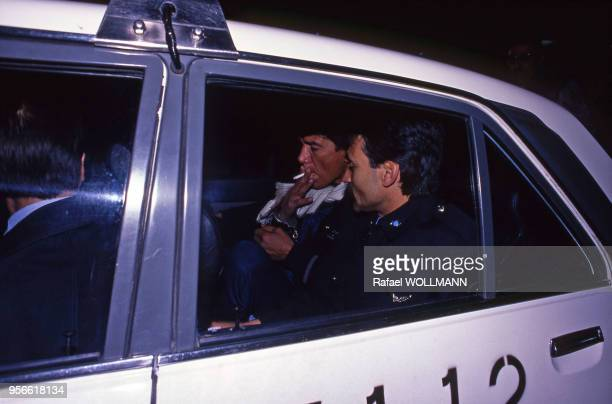Emprisonnement du boxeur argentin Carlos Monzon pour l'assassinat de son épouse en 1989 Argentine