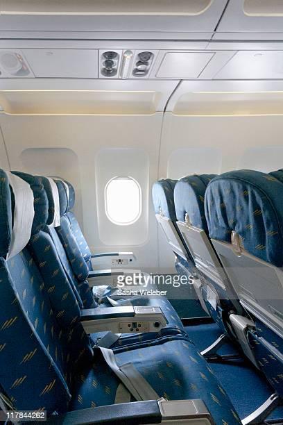 Empty Airline Seats Interior