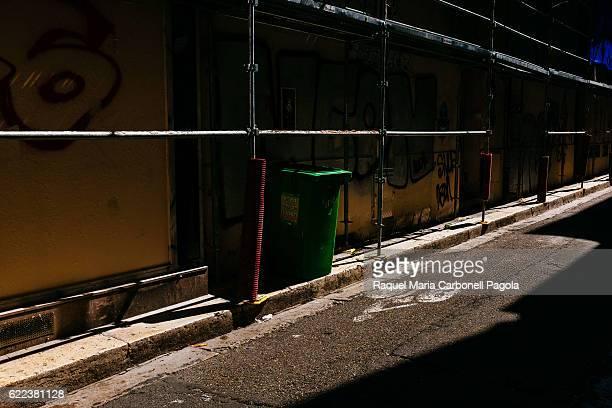 Empty alleway