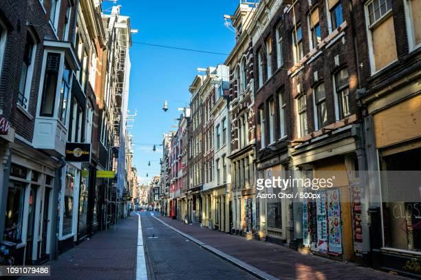 Empty Alleyways of Amsterdam