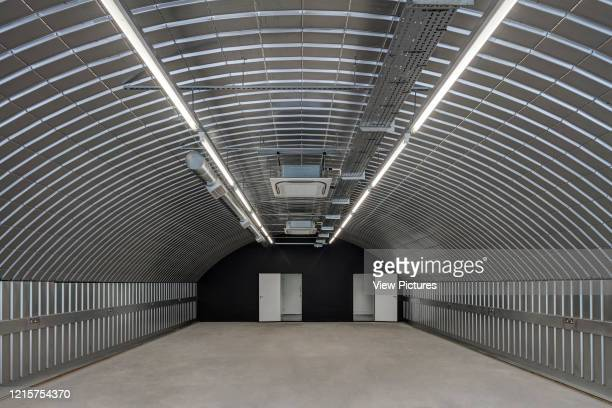 Empty and refurbished space in arches. Morning Lane Arches, London, United Kingdom. Architect: Adjaye Associates , 2016..